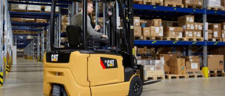 Ny Cat Lift truckserie fra Rocla