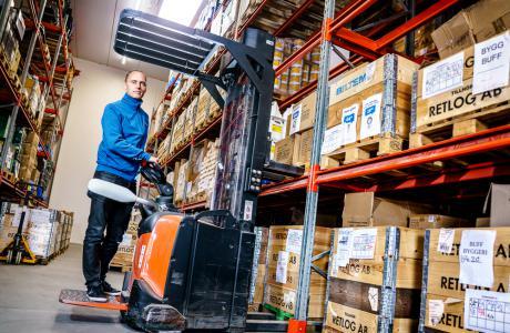 Ypperlig Biltema ekspanderer og opretter eget logistikfirma - LTL.dk FF-79