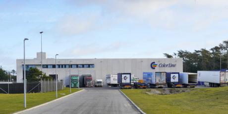 Color Lines logistikcenter i Hirtshals indviet